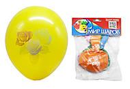 Шарики «День рождения» 5 штук, , детский