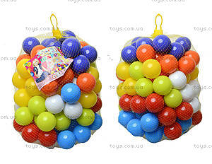 Набор мягких шариков для сухого бассейна, 02-414