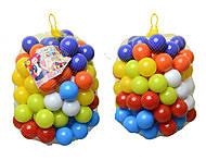 Набор мягких шариков для сухого бассейна, 02-414, купить