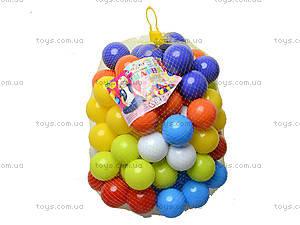 Набор мягких шариков для сухого бассейна, 02-414, фото