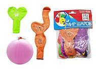 Шарики «Сердце+Мрамор» 21 штука, , игрушки