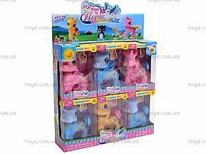 Шесть лошадок пони, 2025A, toys.com.ua