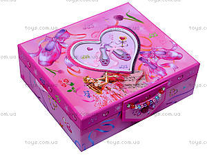 Шкатулка для девочек с аксессуарами, BT-C-009, купить