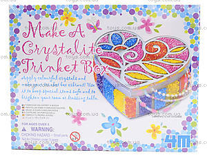 Шкатулка для украшений из бисера, 02712, фото
