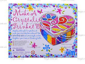 Шкатулка для украшений из бисера, 02712, игрушки