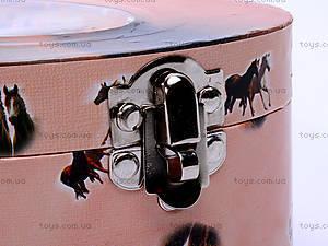Шкатулка музыкальная с лошадью, HOR-006BR, отзывы