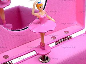 Шкатулка с балериной, музыкальная, BT-C-045, фото
