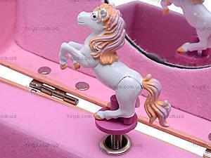 Шкатулка с крутящейся лошадью, HOR-017BR, цена