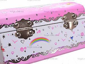 Шкатулка-сундучок для девочек, BT-C-015, детские игрушки