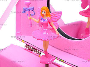 Шкатулка-сундучок с балериной и ручкой, PC-097, цена