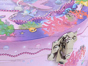Шкатулка-сундучок с русалочкой, BT-C-056, купить