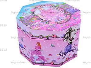 Шкатулка восьмиугольная с балериной, UK-039, купить