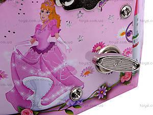 Шкатулка восьмиугольная с балериной, UK-039, игрушки