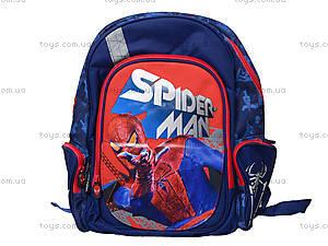 Школьный ортопедический рюкзак с EVA-спинкой Spider-Man, SM4R-12T-836M, фото