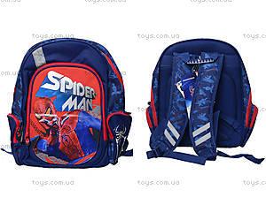 Школьный ортопедический рюкзак с EVA-спинкой Spider-Man, SM4R-12T-836M