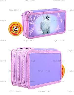 Школьный пенал-книга для детей Lovely Kitty, 94089