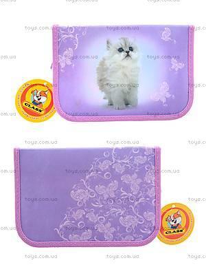 Школьный пенал-книжка Lovely Kitty, 94035