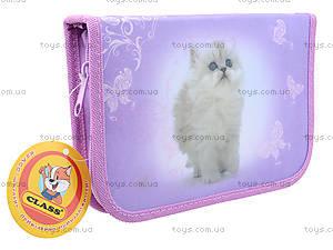 Школьный пенал-книжка Lovely Kitty, 94035, игрушки