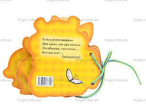 Книга-шнуровка для детей «Наши любимцы», М451003Р, цена