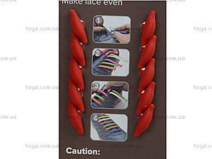 Бордовые шнурки AntiLaces Classic, CBU30, фото