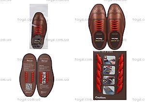 Бордовые шнурки AntiLaces Classic, CBU30