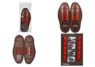 Бордовые шнурки AntiLaces Classic, CBU30, отзывы