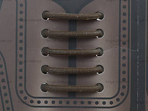 Шнурки AntiLaces Classic, коричневые, CBR30, игрушки