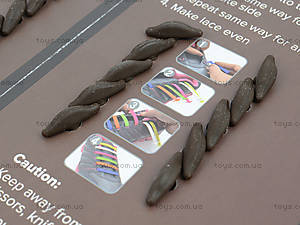 Шнурки AntiLaces Classic, коричневые, CBR30, магазин игрушек
