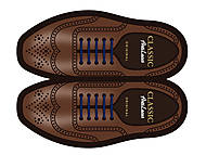 Шнурки AntiLaces Classic, синие, CBL30, купить