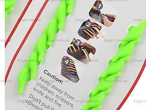 Зеленые шнурки AntiLaces Kids, KG38, купить