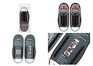Силиконовые шнурки AntiLaces Start, SBR565, фото