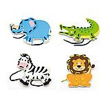 Шнуровка Viga Toys «Дикие животные», 51326, отзывы