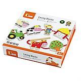Шнуровка Viga Toys «Ферма», 59548VG, отзывы