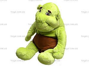 Мягкая детская игрушка Шрэк, 001, купить