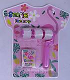 """Штампик 3шт. + ролик + штемпельная подушечка """"Фламинго"""", 998-FL, набор"""