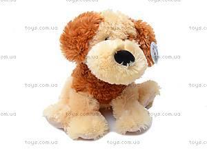 Сидячая собака, плюшевая, Q-113-061, купить