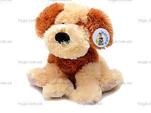 Сидячая собака, плюшевая, Q-113-061