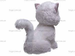 Сидячий белый кот, ZY1085B/50, купить