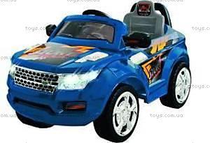 Синий электромобиль-джип на радиоуправлении, J-003