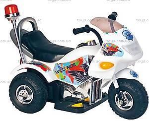 Синий электромотоцикл для детей, M-008