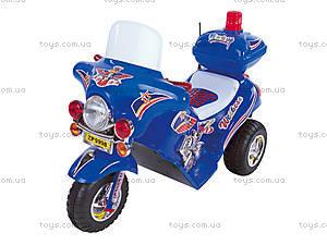 Синий электромотоцикл «Полиция», 03010332 CИH