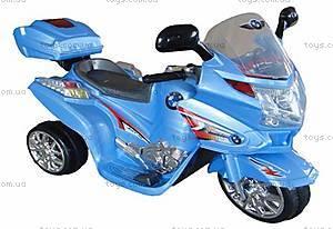 Синий мотоцикл с радиоуправлением, M-012