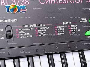 Синтезатор «Бременские музыканты», BT-3738 RUS, игрушки