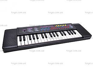Синтезатор детский с микрофоном, 3738S, игрушки