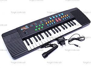 Синтезатор для детей, с микрофоном, TX3138