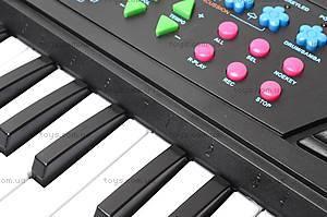 Синтезатор Electronic Keyboard, с микрофоном, TX8822, фото