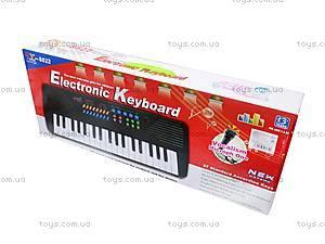 Синтезатор Electronic Keyboard, с микрофоном, TX8822