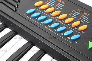 Синтезатор Electronic Keyboard, с микрофоном, TX8822, отзывы