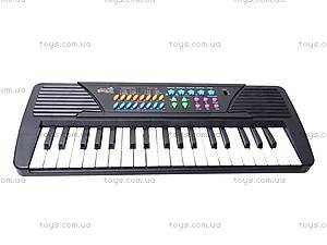 Синтезатор Electronic Keyboard, с микрофоном, TX8822, игрушки