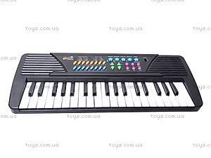 Синтезатор Electronic Keyboard, с микрофоном, TX8822, игрушки